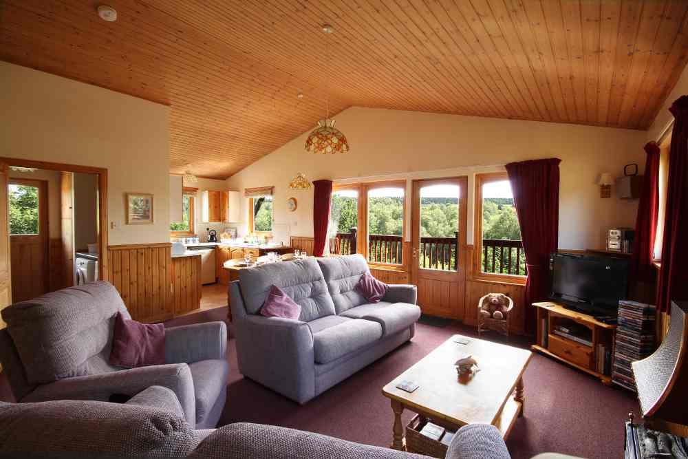 Kestrels Self Catering Lodge, Hiddenglen Holidays, Nairn, UK.